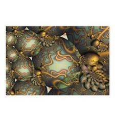 """Encrusted"" Fractal Art Postcards (Package of 8)"