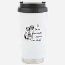 Difference in salaries? Here Travel Mug