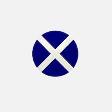 Scottish Flag Total Mini Button