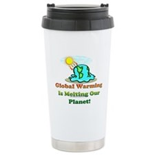 Global Warming Travel Mug