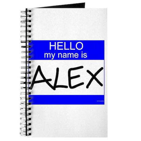 """""""Alex"""" Journal"""