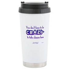 CRAZY (classes) Travel Mug