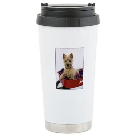 Baby Cairn Terrier Stainless Steel Travel Mug