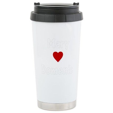 Mary Heart(s) Domenic Stainless Steel Travel Mug