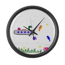 Unique Kids fish Large Wall Clock