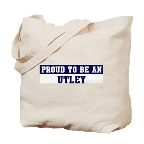 Proud to be Utley Tote Bag