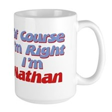Nathan Is Right Coffee Mug