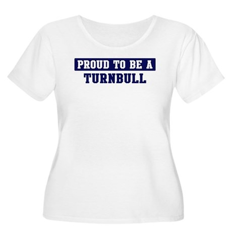 Proud to be Turnbull Women's Plus Size Scoop Neck
