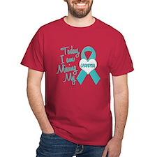 Missing My Grandma 1 TEAL T-Shirt