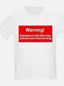 Son Burn Christian Kids T-Shirt