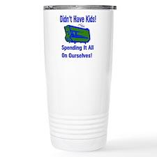 Spending Our Inheritance Travel Mug