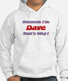 Because I'm Dave Hoodie