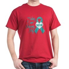 Missing My Sister 1 TEAL T-Shirt