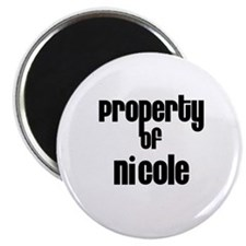 Property of Nicole Magnet