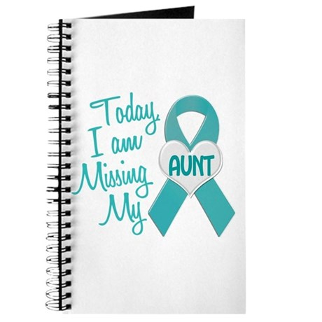 Missing My Aunt 1 TEAL Journal