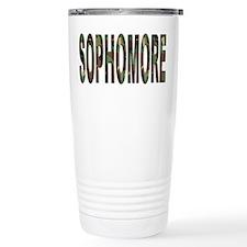 Camoflage Sophomore Travel Mug