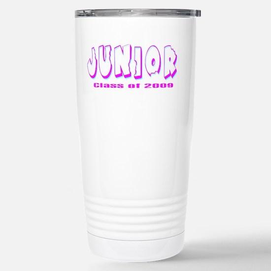 Junior Class of 2009 Stainless Steel Travel Mug