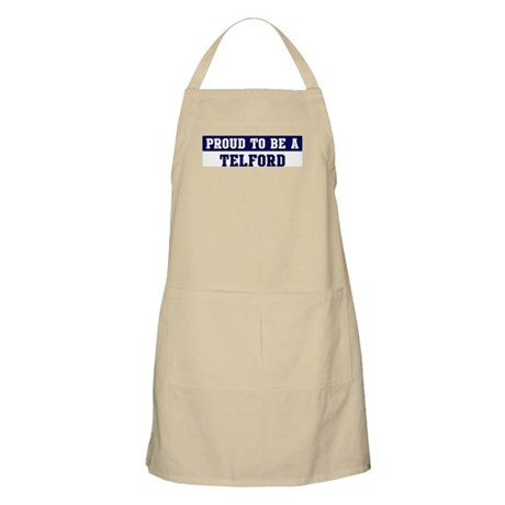 Proud to be Telford BBQ Apron