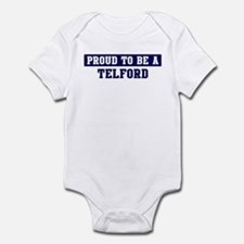 Proud to be Telford Infant Bodysuit