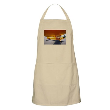 Piper Cub From the Side BBQ Apron