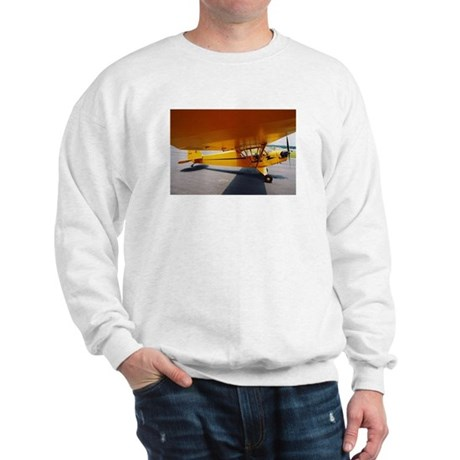 Piper Cub From the Side Sweatshirt