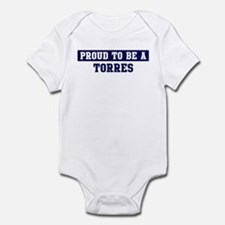 Proud to be Torres Infant Bodysuit
