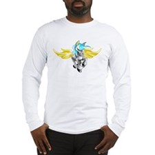 3D Pegasus Long Sleeve T-Shirt