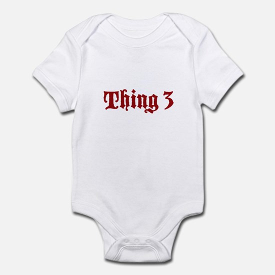 Thing 3 Infant Bodysuit