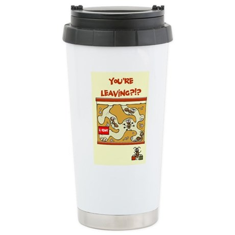 Scott Designs Stainless Steel Travel Mug