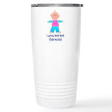 I LOVE POP POP GIRL Travel Coffee Mug