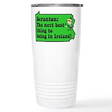 Scranton St. Patrick's Day Pa Travel Mug