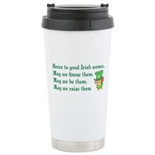 Irish Women Travel Mug