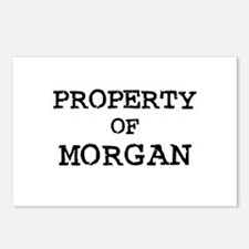Property of Morgan Postcards (Package of 8)