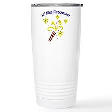 Lil' Miss Firecracker Travel Mug