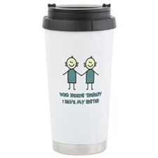 Sisters Fun Travel Mug