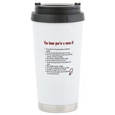 You Know You're A Nurse If... Travel Mug