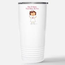 Hug a Nurse Travel Mug