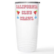 California Club Crawl Travel Coffee Mug