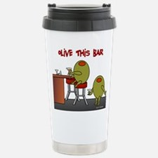 Olive This Bar Travel Mug