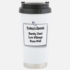 Low Mileage, Runs Well Stainless Steel Travel Mug