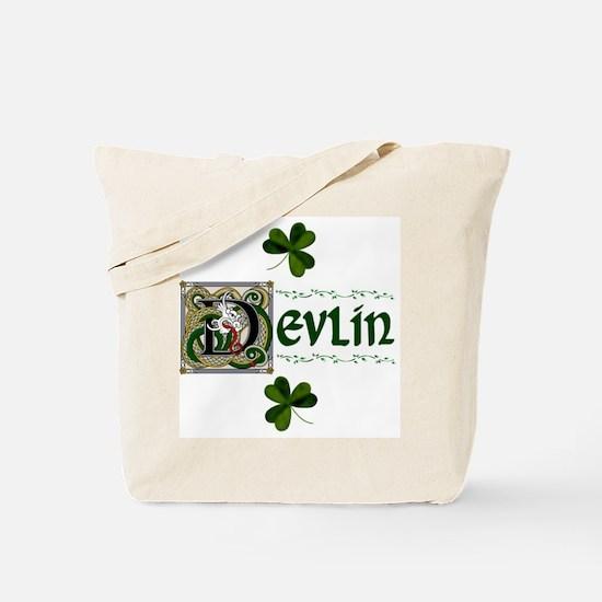 Devlin Celtic Dragon Tote Bag