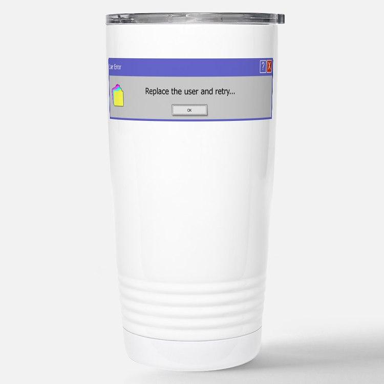 Computer Error Travel Mug