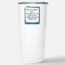 BUDGET CUTS Stainless Steel Travel Mug