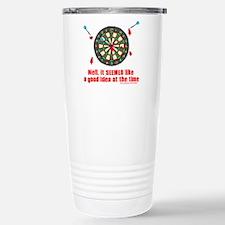 Darts Stainless Steel Travel Mug