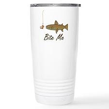 Bite Me Fish Travel Mug