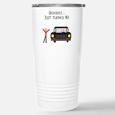CAUTION 16 YEARS OLD Travel Mug