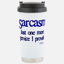 Sarcasm Stainless Steel Travel Mug