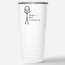 Selective Hearing Travel Mug