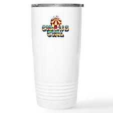 CPM Carnival Girl Travel Coffee Mug