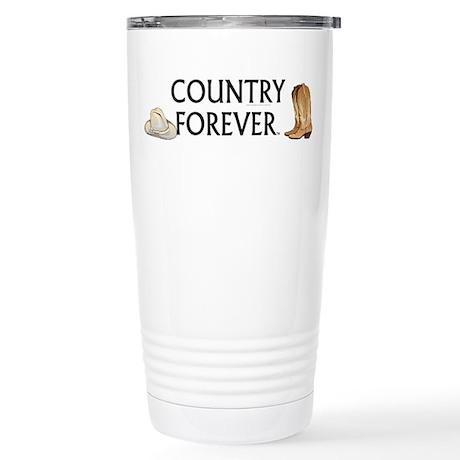 Country Forever Stainless Steel Travel Mug